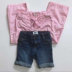 Old Navy Girls Pant And Short Bundle